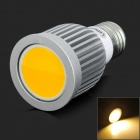 LetterFire E27 5W 380lm 3000K 1-COB LED Warm White Spotlight - Silvery Grey (AC 85~265V)