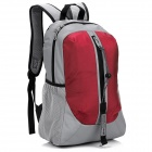 LKLR 001 Outdoor Sports Nylon-Rucksack - Rot + Grau (25L)