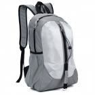LKLR 001 Outdoor Sports Nylon Backpack - Light Grey + Grey (25L)