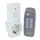 Tai Shen TS-868 230V 16A 3680W EU Plug Remote Controlled Smart Home Sockets Set - White