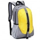 LKLR 001 Outdoor Sports Nylon Backpack - Yellow + Grey (25L)