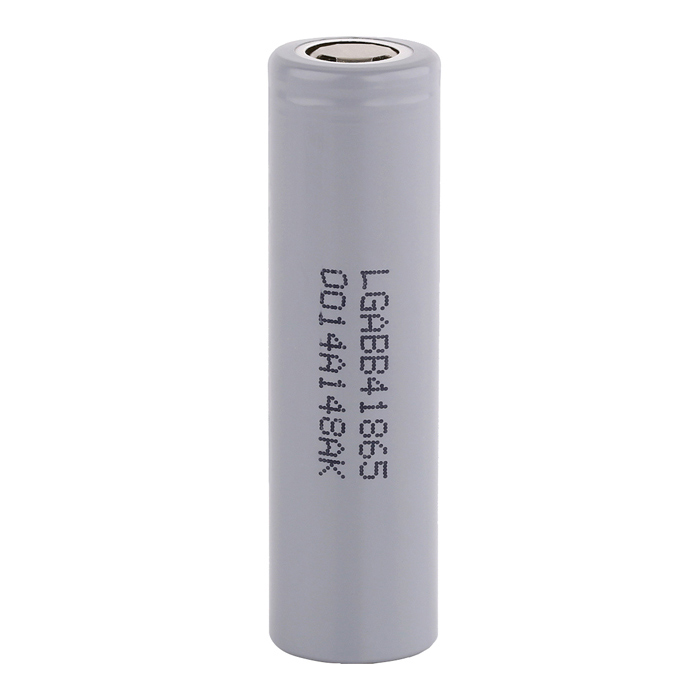 LG LGABB41865 18650 2600mAh Rechargeable Battery - Grey micro 5v 1a usb 18650 lithium battery charging board module protection new sell