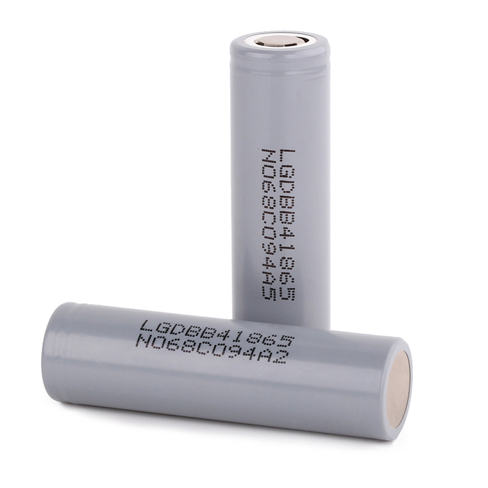 LG 18650 2600mAh Batterie rechargeable - Gris (2 PCS)