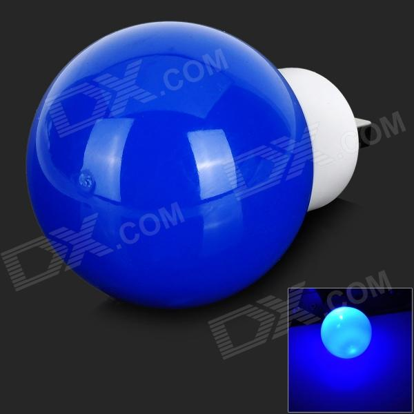 TONY SJ02 USB 1.5W 80lm 2000K 1- 3528 SMD LED Cool White Bulb - Blue + White (5V)