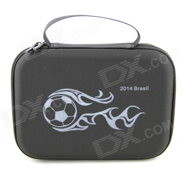 HGYBEST 2014 FIFA World Cup Brazil Protective EVA Camera Storage Bag for Gopro Hero 4/ 3+ / 3 / 2 neopine travel portable camera accessories storage bag for gopro hero 2 3 3 4 red