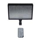 RUIBO 20W 2180lm 336-LED Dimming Photography Light w/ Infrared Remote Control - Black + White