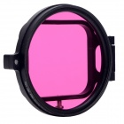 Fat Cat Flip 58mm Underwater Color-Correction Red +Magenta Dive Filter + CPL for GoPro Hero3 - Black