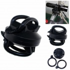 ZHISHUNJIA 360-002 360 Degree Rotation Bicycle Flashlight Clip - Black