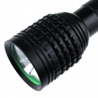 ZHISHUNJIA Z30 3-LED 2400lm 5-Mode White Flashlight - Black (2 x 18650)