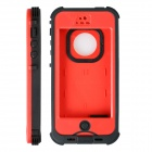 Redpepper HW01 Waterproof Protective Plastic Back Case for IPHONE 5 / 5S - Red + Black