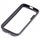Protective TPU + PC Bumper Frame for Moto G Phone - Black