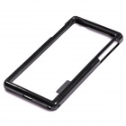 Protective TPU + PC Bumper Frame for Sony Xperia Z2 - Black