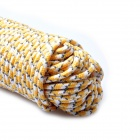 AceCamp 9083 5mm Glow-in-the-Dark Camping Tent Rope - Yellow + White (30m)