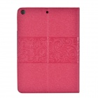 Elegant Silk Print Lucky Clouds Pattern Protective PU Leather Case w/ Stand / Card Slot for IPAD AIR