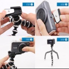 Portable Stand Holder Octopus TrIPOD Mount for GoPro - Black + White