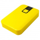 10000mAh External Battery Charger Mobile Power Source Bank w/ LED Flashlight for IPHONE - Yellow