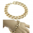 Fashion Aluminum Bracelet - Golden Yellow