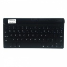 BK-972 Mini Ultradünne Bluetooth V3.0 65-Tasten-Keyboard für iPad, iPhone, Samsung Galaxy Tab - Schwarz