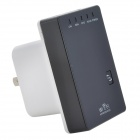 Portable Wall-Plug Wireless-N 300Mbps Router AP Repeater Client Bridge w/ Wi-Fi Repeater - (US Plugs)