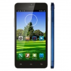 "X3SW MTK6582 Quad Core Android 4.2.2 Smartphone w/ 5"" Screen, 1GB RAM, 4GB ROM, Dual Camera - Blue"