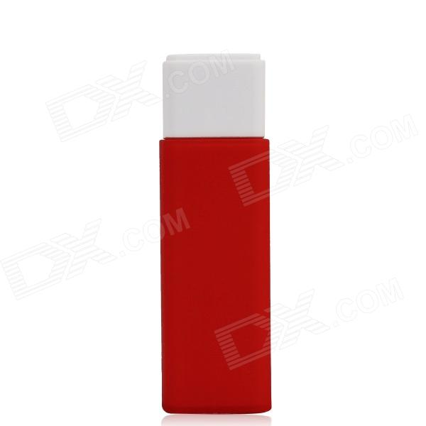 "Flower Show 0-930C Mobile Li-ion ""2800mAh"" Power Source Bank for IPHONE / Cellphone - Red + White"