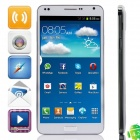 "M-HORSE N9000W MTK6572 Dual-Core Android 4.2.2 WCDMA Bar Phone w/ 5.5"", 4GB ROM, GPS, FM - White"