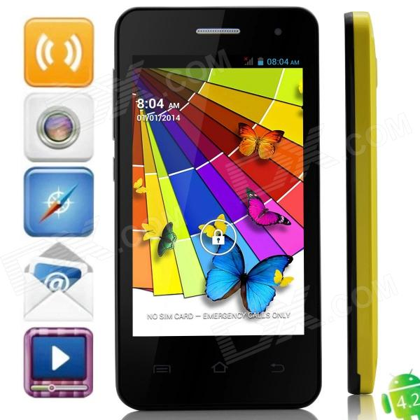mini M1 MTK6572 Dual-Core Android 4.2.2 WCDMA Bar Phone w/ 4.0