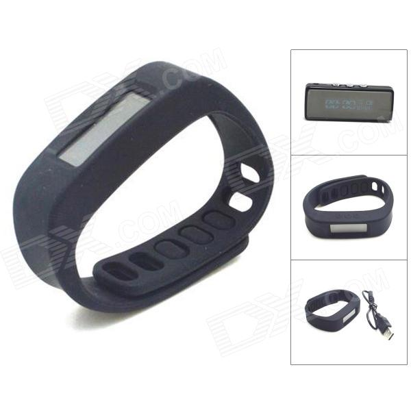 HGYBEST 1.7 LCD Bluetooth Intelligent Health Bracelet w/ Motion Record, Sleep Monitoring, Stopwatch roland cb g49