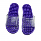 Bathroom Massage Slippers - Purple (Size-L / 40~42)