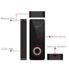Zsun Wi-Fi USB 2.0 Flash Drive for Tablet PC / IPAD / IPHONE / Android / Windows PC - Black (8GB)