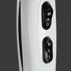 WOERDA CM5506 Professional Hair Salon 2200W UK Plug 5-mode Anion Hair Dryer - White + Black