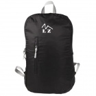 Outdoor Portable Lightweight Foldable Waterproof Backpack Bag - Black (20L)