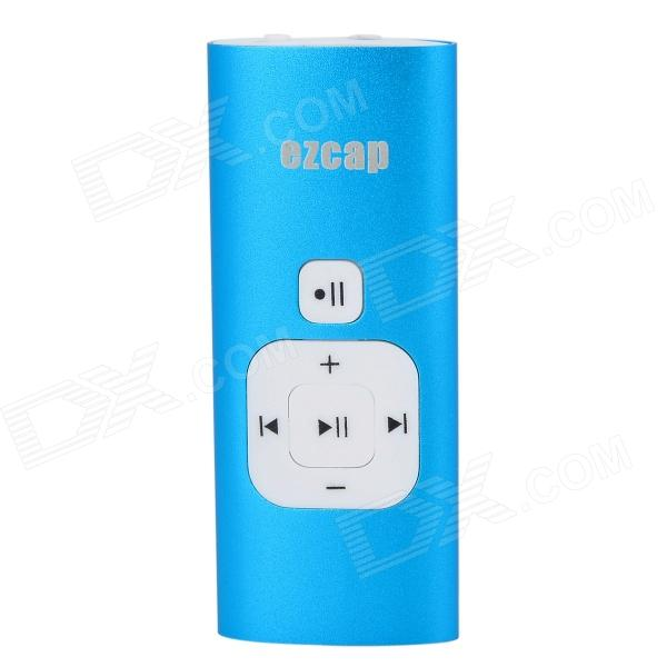 цена на Ezcap 240 Portable 512MB 3.5mm Jack Calls Recorder for IPHONE - Blue