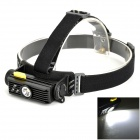 NiteCore HC90 900lm 1-LED Cool White + 3-LED RGB Light Headlamp - Black (3.6~4.2V)