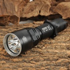 Nitecore CI6 Outdoor Tactic 440LM 12-mode LED RGB / Cool White Flashlight - Black (1 x 18650)