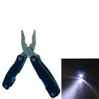 Multifunction Stainless Steel Pliers Tool - Silver + Black