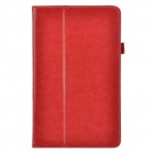 Business 2-Fold Protective PU Leather Case Cover Stand for Lenovo ThinkPad 8 - Red