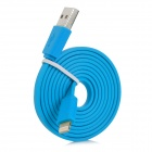 MFi Huntkey Lightning 8-Pin Male to USB 2.0 Male Cable - Blue (1m)