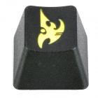 KBC R4 Mechanical Keyboard Cap DOTA Protoss Keycap - Black + Yellow