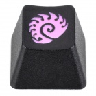 KBC R4 Mechanical Keyboard Cap DOTA Zerg Keycap - Black + Pink