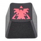 KBC R4 Mechanical Keyboard Cap DOTA Terran Keycap - Black + Red