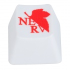 KBC R4 Mechanical Keyboard Cap DOTA Keycap - White + Red