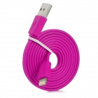 MFi Huntkey Lightning 8-Pin to USB 2.0 Cable for IPHONE - Deep Pink
