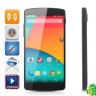 LG Nexus 5 Android 5.0 Quad-core WCDMA Bar Phone w/ 4.95