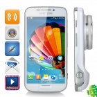 "Samsung Galaxy S4 Zoom C101 Android 4.2 Dual-core WCDMA Bar Phone w/ 4.3"" Screen, Wi-Fi, GPS - White"