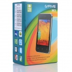"Gfive(G5) X1 Dual-Core 3.5"" Capacitive Screen Android 4.2 WCDMA 3G Bar Phone - White"