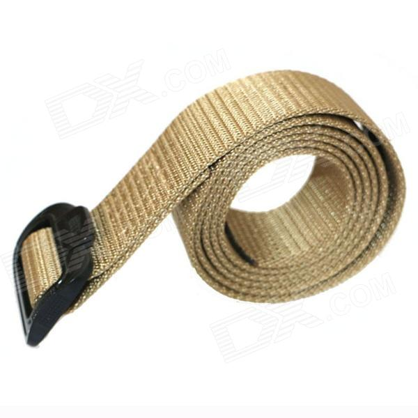 ACCU New Military Tactical Outdoor Nylon Waist Belt - Tan