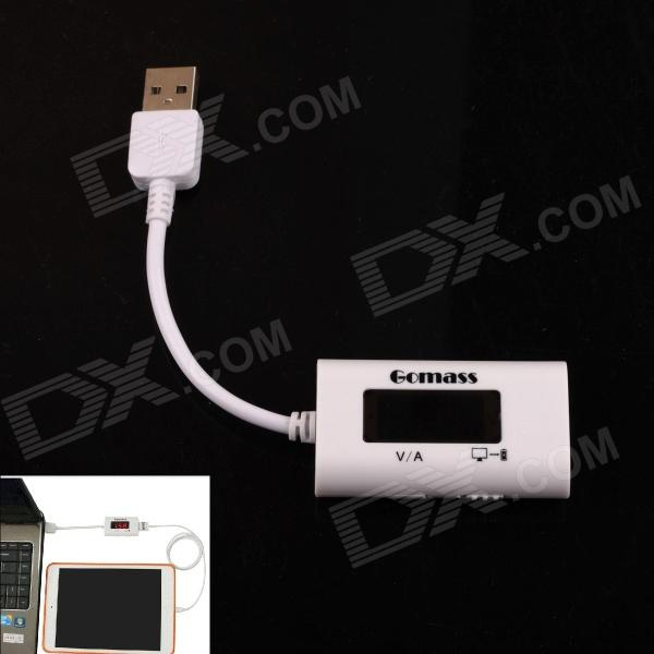 LED Display USB Power Charger Data Transmit Current Voltage Tester