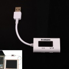 Display a LED USB Power Charger dati trasmettono corrente Tester di tensione