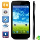 "B1 MTK6582 Quad-Core Android 4.2.2 WCDMA Bar Phone w/ 5.0"" IPS QHD, 4GB ROM, GPS - Black"